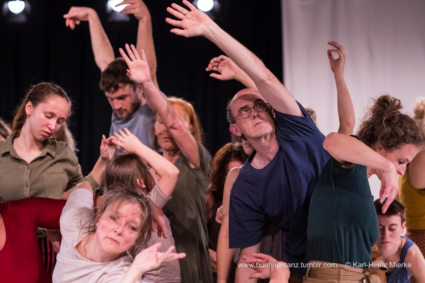 Verworren – Verwurzelt – Identität   - Community Tanz Projekt